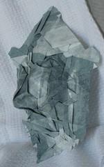 Joelmask1 (somzsu) Tags: paper origami mask joel cooper tessellation
