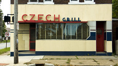Czech Grill (ClevelandSGS) Tags: ohio food grill signage lorain
