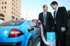 Better Place Israel signs infrastructure agreement with City of Jerusalem - II (btrplc) Tags: jerusalem ev infrastructure charging electriccar electricvehicle betterplace