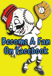 Mister Baseball is on Facebook!