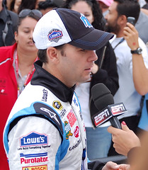 Jimmie Johnson interviewed ESPN