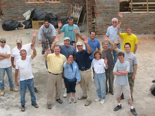 Construction team from Tualatin and Madras