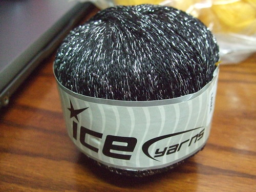 Black Ice Yarns Lame