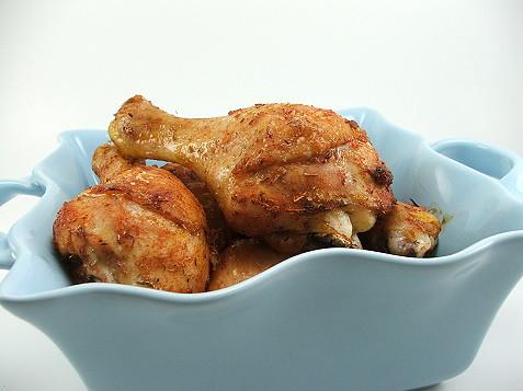 Maple Thyme Chicken Legs