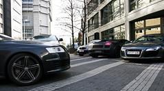 Lamborghini Gallardo, Audi R8 & Audi RS6 Combo (saschoo) Tags: am frankfurt main audi lamborghini spotting gallardo combo r8 rs6 roomers