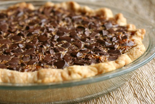 Double Chocolate Pecan Pie | Annie's Eats