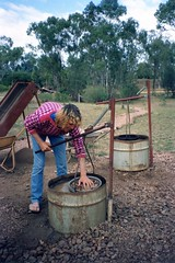 920610 Grading Sapphires (rona.h) Tags: june australia 1992 cacique ronah