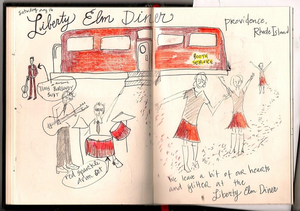 Tour Doodle 2009: Pages 6 & 7