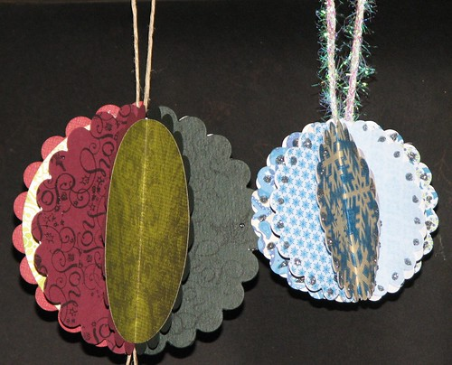 #5 - Die Cut Segmented Ornaments 024