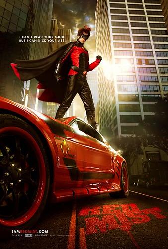 kickass movie poster, red mist