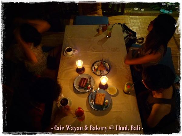 Cafe Wayan & Bakery, Ubud, Bali