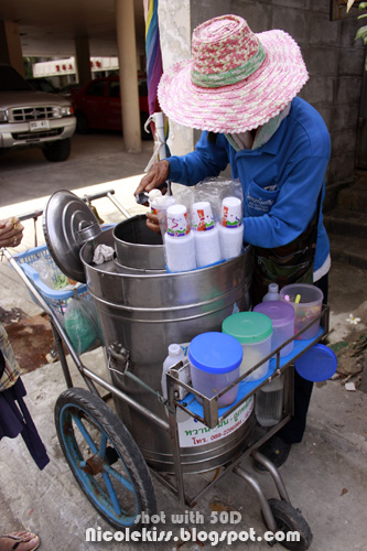 thai ice cream vendor