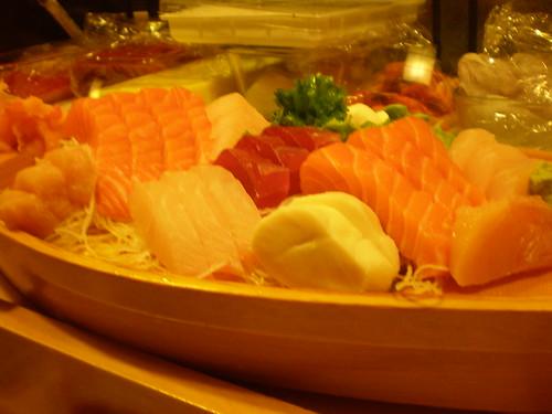 The Tokyo sashimi boat