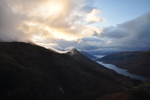 The Pap of Glencoe and Loch Levan