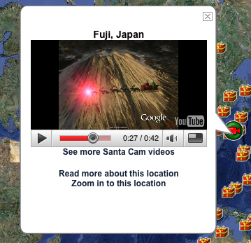 Official NORAD Santa Tracker Video