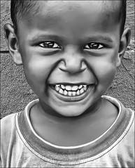 S M I L E (P.C.P) Tags: boy india smile blackwhite kid eyes madurai tamilnadu pcp blackwhitephotos pcpsk59