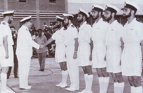 Admiral a r khan meeting senior officers of the pakistan navy
