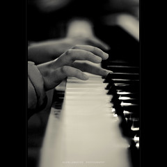 when the music fades (alvin lamucho ) Tags: blackandwhite bw music church girl canon 50mm keyboard dof child play bokeh song band piano middleeast monotone christian melody harmony yamaha kuwait mattredman symphony worshipper 50mmf14 peacemakers bandmember whenthemusicfades rebelt1i alvinlamucho hearofworship preciousderoxas