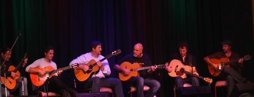 Six guitarists