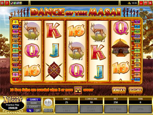 Dance of the Masai slot game online review