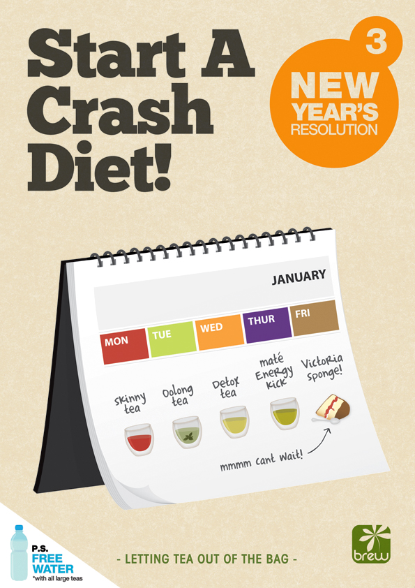 Start A Crash Diet!