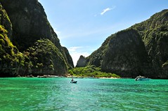 Maya bay (david de mas) Tags: beach bay maya thailande ghan phan