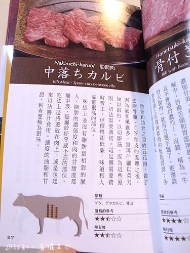 燒肉手帳內頁1