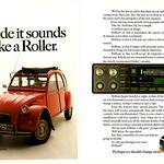 Audioline Citroen 2CV advert