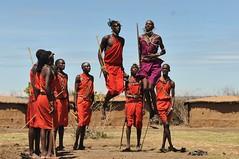 Masai Warriors in the Masai Mara (Ami 211) Tags: africa kenya masaimara