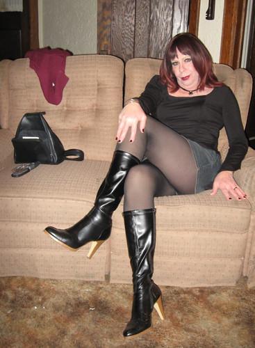 Nude janet jacme stockings