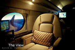 The View (Rayan M.) Tags: lighting window plane private flying chair aircraft seat flight wing jet spotlight comfort luxury theview       privateaviation    rayanmphotography