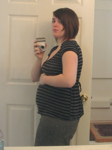 17 weeks pregnant (almost 4 months)