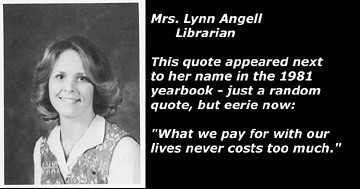 Lynn Angell - Yearbook