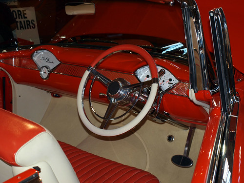 1957 chevy belair dashboard