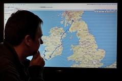 295/365Y2: Ireland is Huge! (GeoY5) Tags: charity ireland home self google map cycle year2 day295 365days glacork2010 glasgowtocork coasttocoast2010