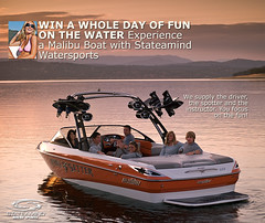 Win a Day in a New Malibu and Wakeboard Gear