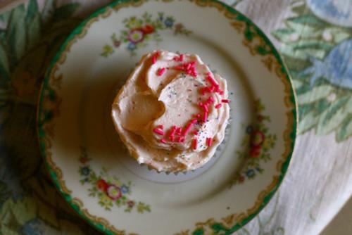 Sweetheart Rose Cupcakes
