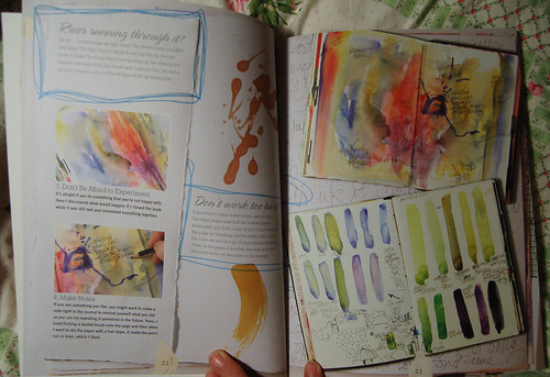 Spread from Journal Spilling (Photo by iHanna - Hanna Andersson)