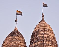 Jain Temples of Khajuraho (stacieicats) Tags: india temple flag swastika jain khajuraho