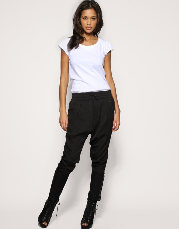 harem pant Asos sweat 3