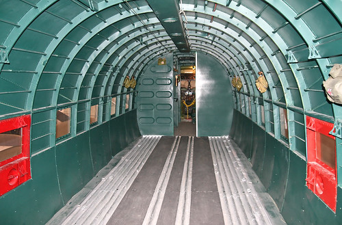 Douglas C-47a Skytrain (42-92841) Cabin Looking Forward
