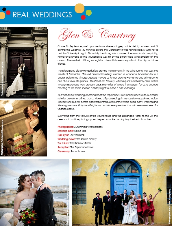 Exclusive Brides Magazine - Real Wedding