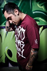 Nefarious Clothing (Tim.A.M.) Tags: portrait clothing promo nikon softbox strobe coolbeans nefarious d300 b800 aleinbees