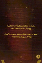 gatheryerosebuds
