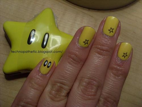 Mario Star Manicure