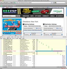 Blocked page - firebug net screen