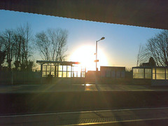 Earlswood Station sunrise
