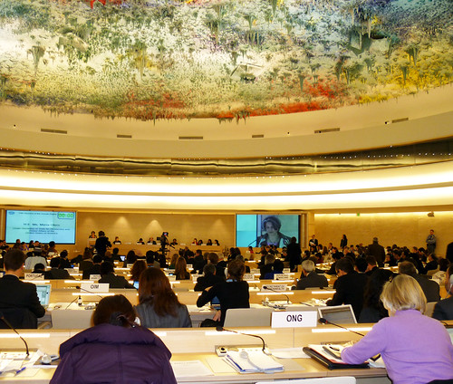 Under Secretary Maria Otero Addresses the Human Rights Council
