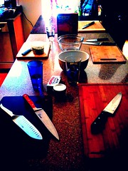 Knife Skills class, in potentia.
