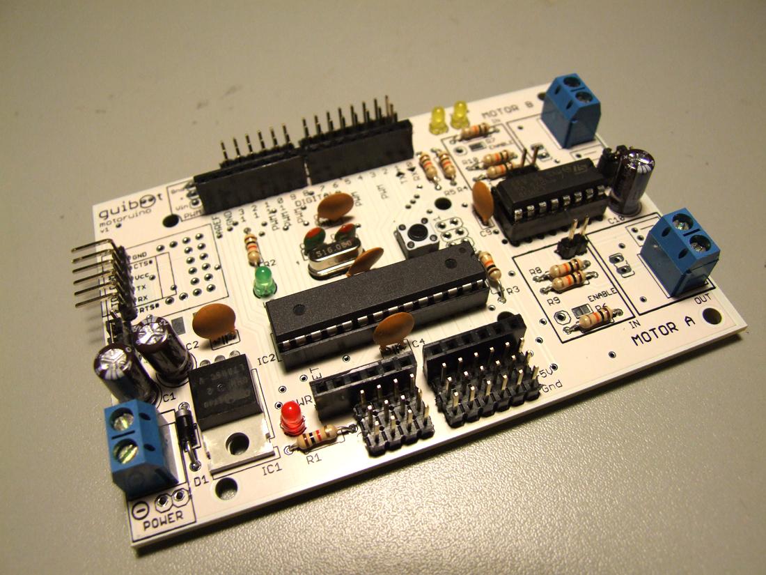 Motoruino For Creative Robotics Arduino Compatible Board Arduinocircuitboardjpg